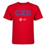 Czech Republic Euro 2016 Elements Kid's T-Shirt (Red)