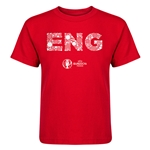 England Euro 2016 Elements Kid's T-Shirt (Red)