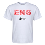 England Euro 2016 Elements Kid's T-Shirt (White)