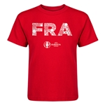 France Euro 2016 Elements Kid's T-Shirt (Red)