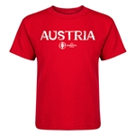 Austria Euro 2016 Core Kid's T-Shirt (Red)