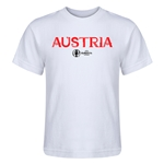 Austria Euro 2016 Core Kid's T-Shirt (White)