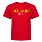Belgium Euro 2016 Core Kid's T-Shirt (Red)