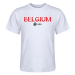 Belgium Euro 2016 Core Kid's T-Shirt (White)