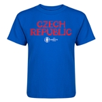Czech Republic Euro 2016 Core Kid's T-Shirt (Royal)