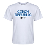 Czech Republic Euro 2016 Core Kid's T-Shirt (White)