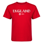 England Euro 2016 Core Kid's T-Shirt (Red)