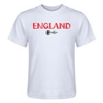 England Euro 2016 Core Kid's T-Shirt (White)