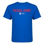 England Euro 2016 Core Kid's T-Shirt (Royal)