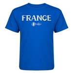 France Euro 2016 Core Kid's T-Shirt (Royal)