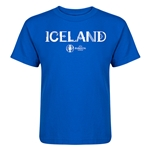Iceland Euro 2016 Core Kid's T-Shirt (Royal)