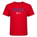 Italy Euro 2016 Core Kid's T-Shirt (Red)