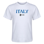 Italy Euro 2016 Core Kid's T-Shirt (White)