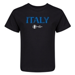 Italy Euro 2016 Core Kid's T-Shirt (Black)