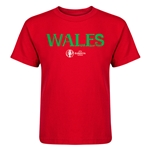 Wales Euro 2016 Core Kid's T-Shirt (Red)