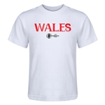 Wales Euro 2016 Core Kid's T-Shirt (White)