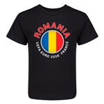 Romania Euro 2016 Fashion Kid's T-Shirt (Black)