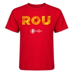Romania Euro 2016 Elements Kid's T-Shirt (Red)