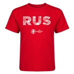 Russia Euro 2016 Elements Kid's T-Shirt (Red)