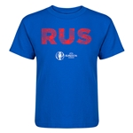 Russia Euro 2016 Elements Kid's T-Shirt (Royal)