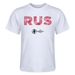 Russia Euro 2016 Elements Kid's T-Shirt (White)