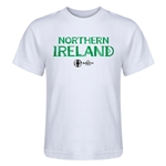 Northern Ireland Euro 2016 Core Kid's T-Shirt (White)