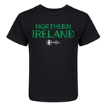 Northern Ireland Euro 2016 Core Kid's T-Shirt (Black)