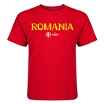 Romania Euro 2016 Core Kid's T-Shirt (Red)