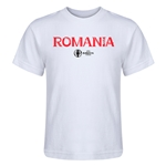 Romania Euro 2016 Core Kid's T-Shirt (White)
