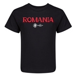 Romania Euro 2016 Core Kid's T-Shirt (Black)