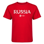 Russia Euro 2016 Core Kid's T-Shirt (Red)