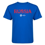 Russia Euro 2016 Core Kid's T-Shirt (Royal)