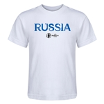 Russia Euro 2016 Core Kid's T-Shirt (White)