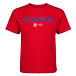 Slovakia Euro 2016 Core Kid's T-Shirt (Red)