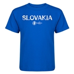 Slovakia Euro 2016 Core Kid's T-Shirt (Royal)