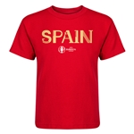 Spain Euro 2016 Core Kid's T-Shirt (Red)
