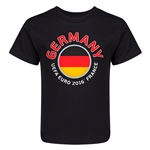 Germany Euro 2016 Fashion Kid's T-Shirt (Black)