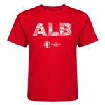 Albania Euro 2016 Elements Kid's T-Shirt (Red)