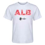 Albania Euro 2016 Elements Kid's T-Shirt (White)