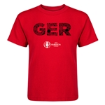 Germany Euro 2016 Elements Kid's T-Shirt (Red)