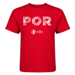 Portugal Euro 2016 Elements Kid's T-Shirt (Red)