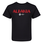 Albania Euro 2016 Core Kid's T-Shirt (Black)