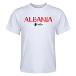 Albania Euro 2016 Core Kid's T-Shirt (White)