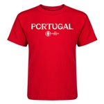 Portugal Euro 2016 Core Kid's T-Shirt (Red)