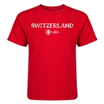 Switzerland Euro 2016 Core Kid's T-Shirt (Red)