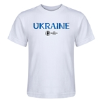 Ukraine Euro 2016 Core Kid's T-Shirt (White)