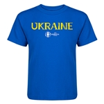 Ukraine Euro 2016 Core Kid's T-Shirt (Royal)