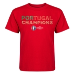 Portugal UEFA Euro 2016 Champions Kid's T-Shirt (Red)