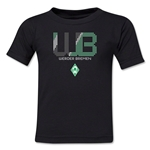 Werder Bremen Pixel Graphic Kids T-Shirt (Black)