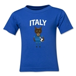Italy Animal Mascot Kids T-Shirt (Royal)